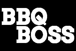 BBQ Boss Logo White